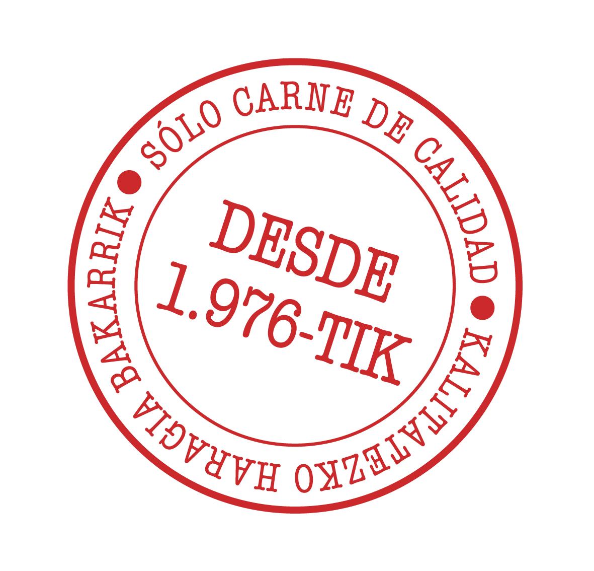 sello transparente Cárnicas Alejandro Goya Okelak